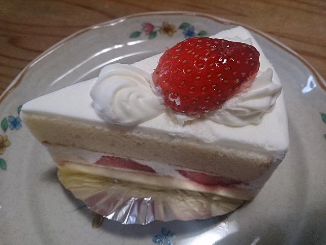 清月さんのケーキでお祝い (^_^)